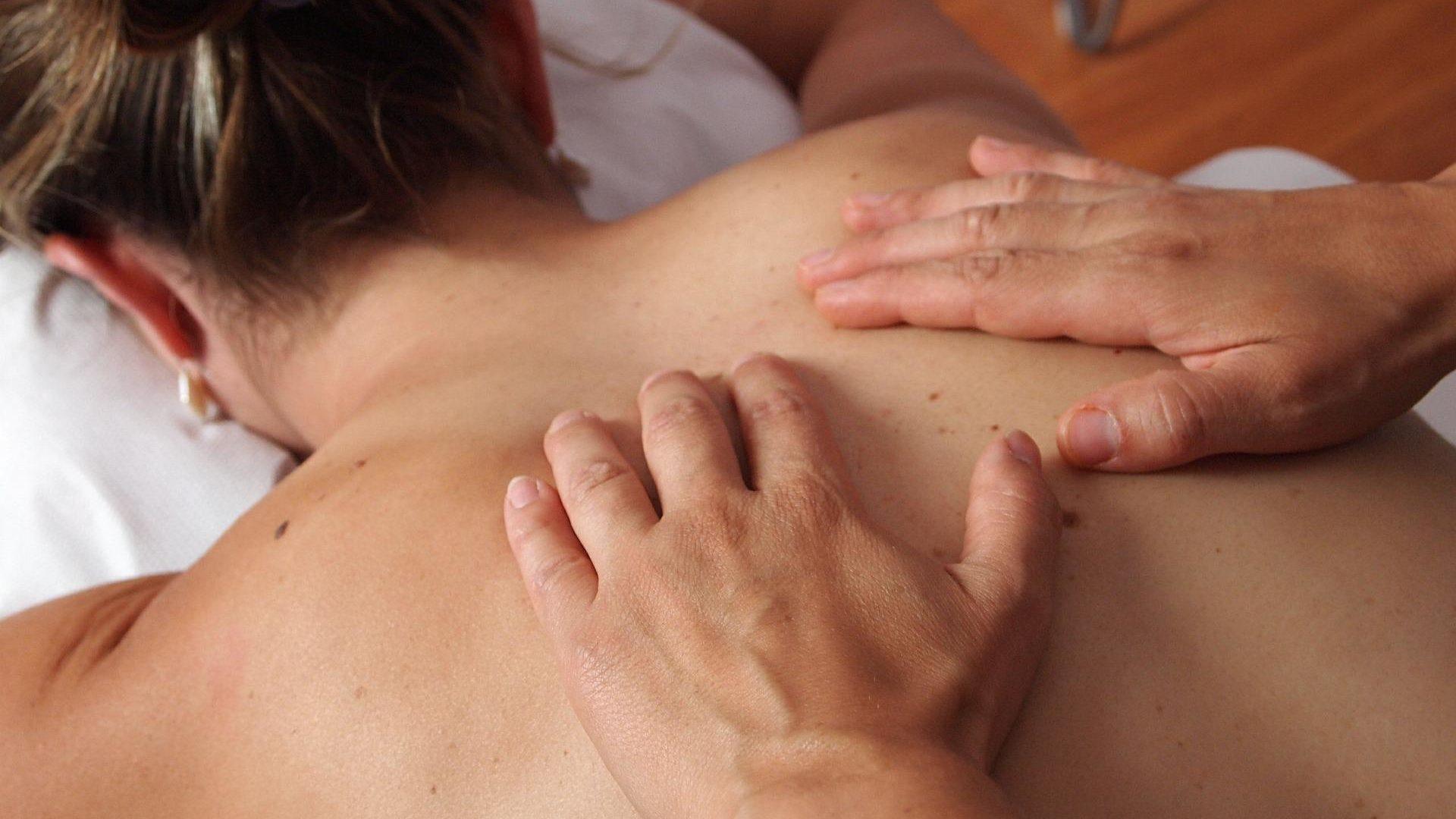 Faszienmassage